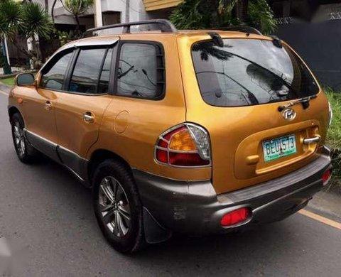 Hyundai Santa Fe 2002 272648