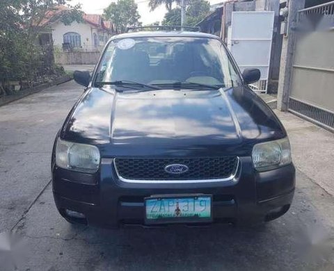 2005 Ford Escape Xlt 4x2 At Black For Sale 292616