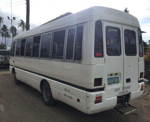 Mitsubishi Rosa Mini Bus Coaster Van White For Sale