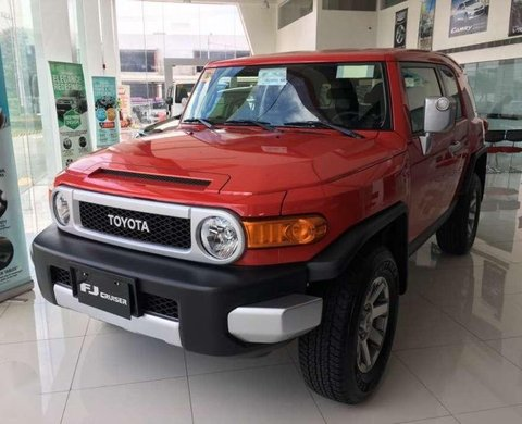 2018 New Toyota Fj Cruiser Red Suv For Sale 361710