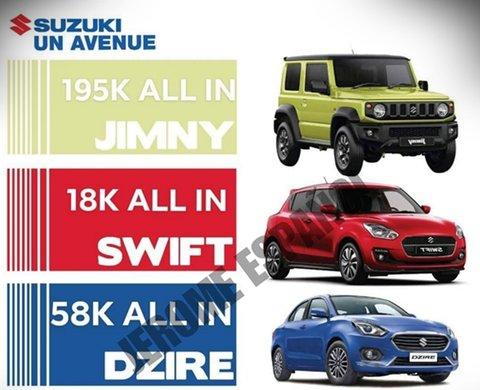 [Suzuki Promo] Suzuki U.N Avenue offers 18k all-in down payment and more