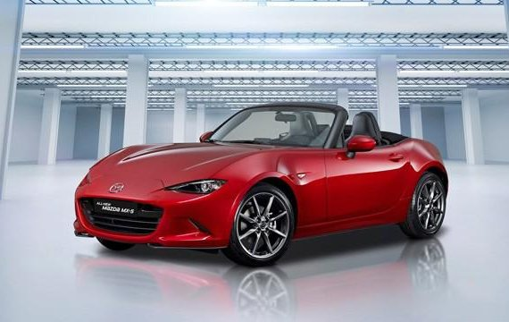2015 Mazda Mx-5 Automatic Gasoline well maintained