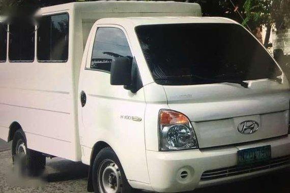 hyundai h100 van 2010 model