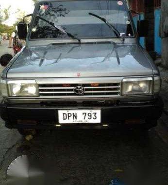 Toyota tamaraw Fx gas gl. 1996 model manual Price 114k
