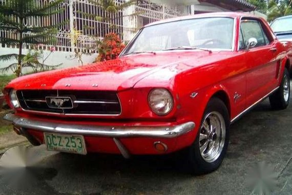 Classic 1965 Ford Mustang