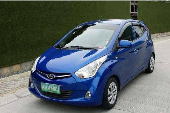 2012 Hyundai Eon Manual Gasoline well maintained