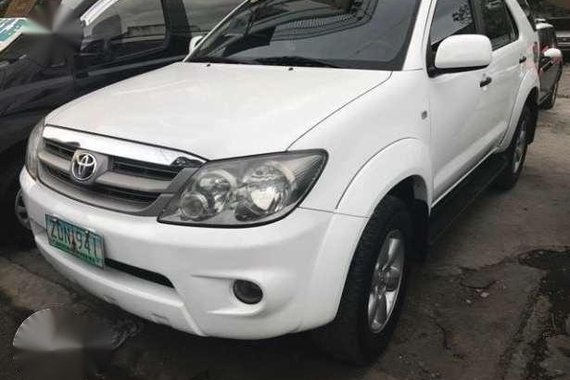 Rush 460K Toyota Fortuner 2.7 Automatic gas 2007 ice cold ac