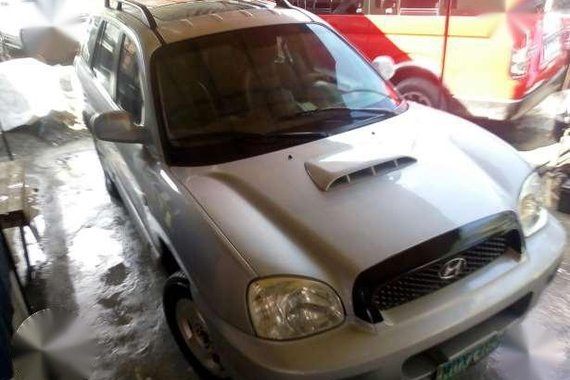 Hyundai Santa Fe Silver 2005 For sale