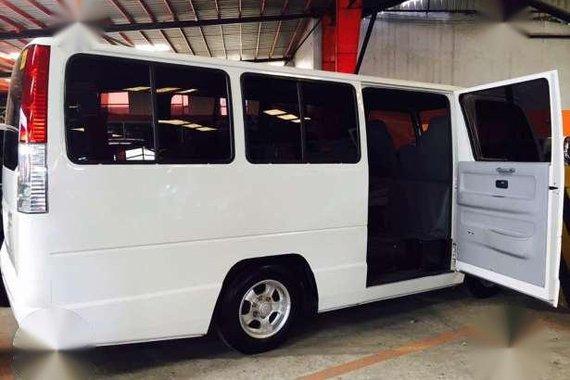 2015 Isuzu NHR I-Van White MT For Sale