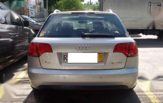 2004 AUDI A4 TDI Silver AT For Sale