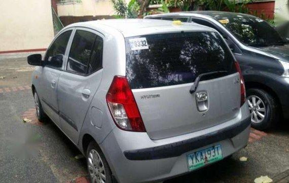 Hyundai i10 Silver MT For Sale