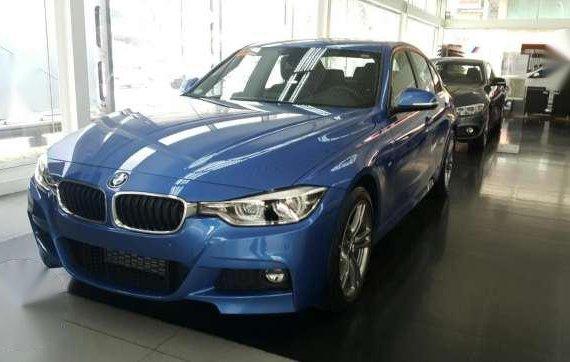 BMW 320D M Sport 2017 Blue For Sale