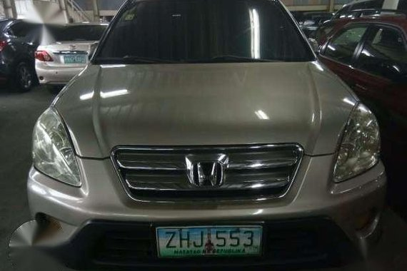 2007 Honda CRV 4x2 AT beige . Gasoline