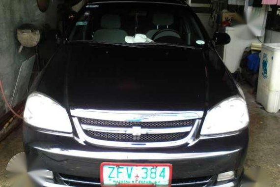 Chevy Optra 2006 Black AT For Sale