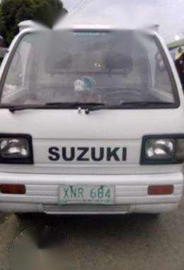Suzuki Multicab 4x4 White MT