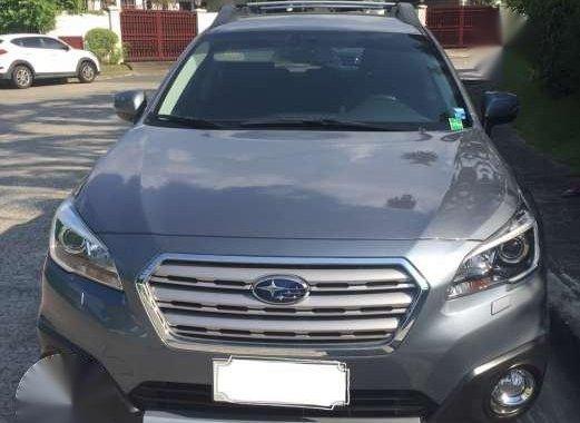 For sale 2015 Subaru Outback