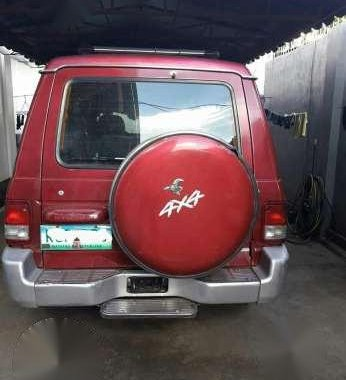 Hyundai Galloper II 4x4 Red MT For Sale