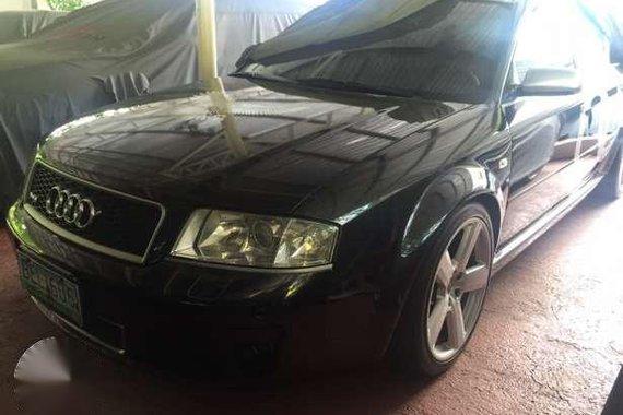 2006 Audi RS6 Sedan Black AT For Sale