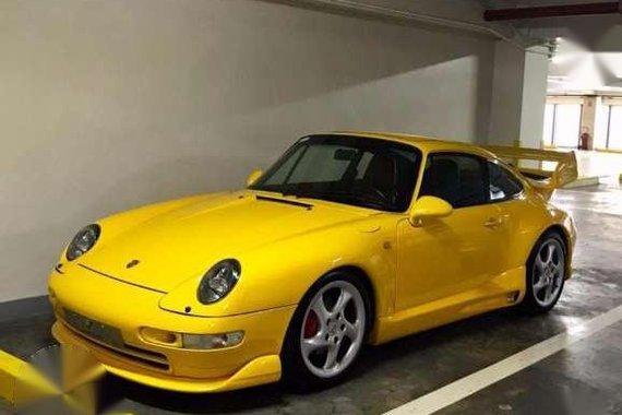 Porsche Carrera 2 993 Yellow For Sale
