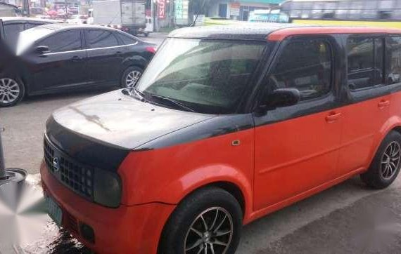 For Sale Nissan Cube 2004 Red AT