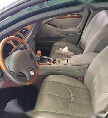 1999 Jaguar Stype 4.0 V8 Green