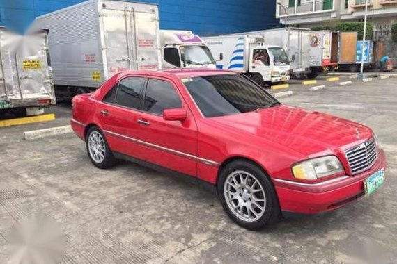 1994 Mercedez Benz C220 Red For Sale