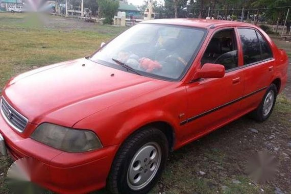 Honda City 1998 Exi Red MT For Sale
