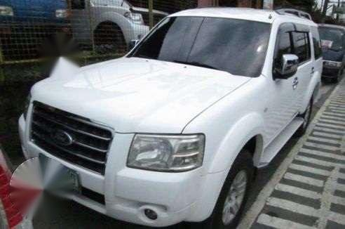 2008 Ford Everest MT White For Sale