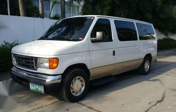 Ford E150 309k matic not starex expedition hiace urvan