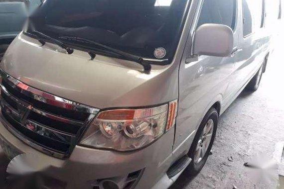 2011 Foton View Van Diesel Silver For Sale