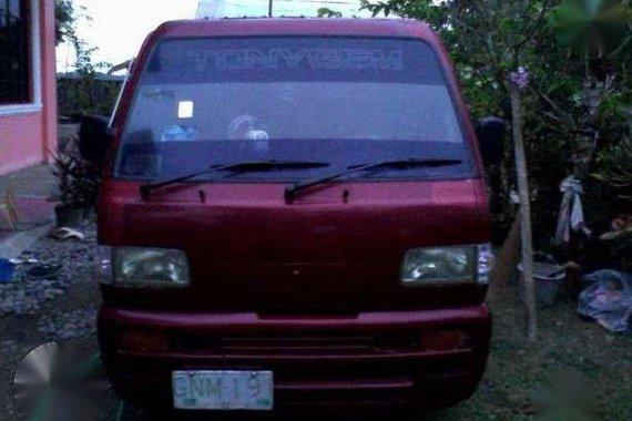 Suzuki Pick-up Multicab 2007 Red MT