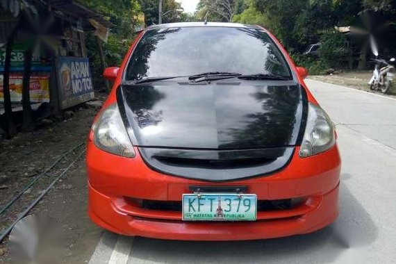 Honda Fit 2008 Automatic Red For Sale