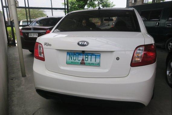 2010 Kia Rio Sedan 1.4L LX M/T for sale