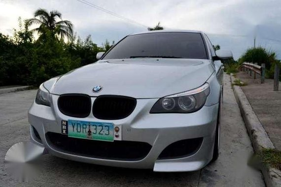 For Sale BMW E60 525i Silver AT 2006