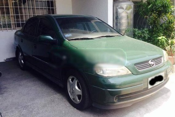 Opel Astra for sale sedan green for sale