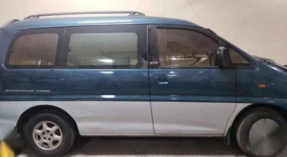 Mitsubishi Spacegear Japan 1996 AT Blue For Sale