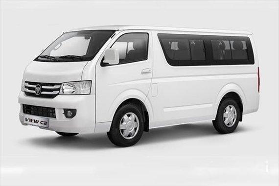 For sale Foton Transvan 2017