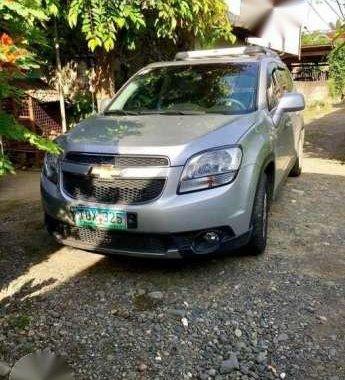 Chevrolet Orlando silver color for sale