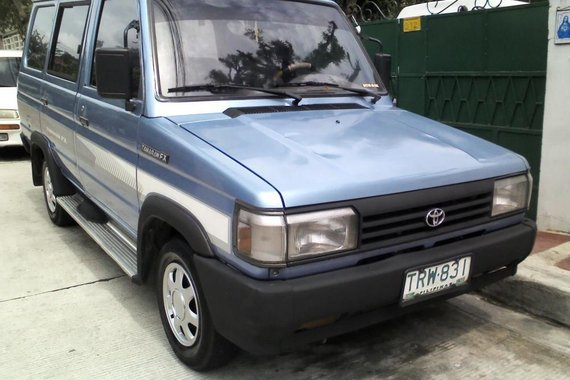 Toyota Fxs 1994 Gasoline Manual Blue