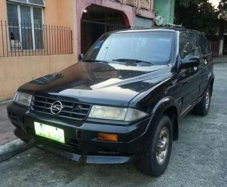 1998 Sangyong Musso turbo diesel at
