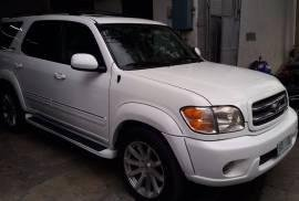 2002 Toyota Sequoia v8 gas suv for sale