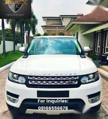 2017 Land Rover Range Rover Sport Diesel Brand New for sale
