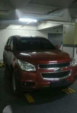 Chevrolet Trailblazer 2016 MT Red SUV For Sale