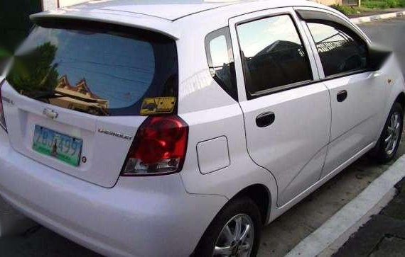 2005 Chevrolet Aveo Hatchback White For Sale