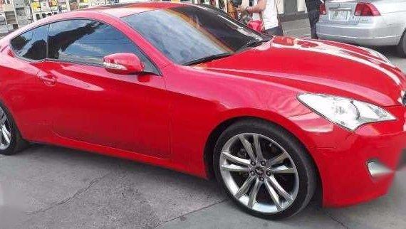 2010 Hyundai Genesis 2.0 T AT Red For Sale