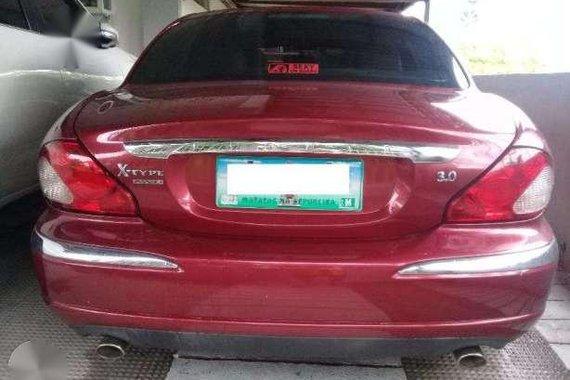 2005 Jaguar X Type 3.0 V6 AT Red For Sale