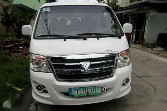 Foton view limited edition 2011 diesel for sale