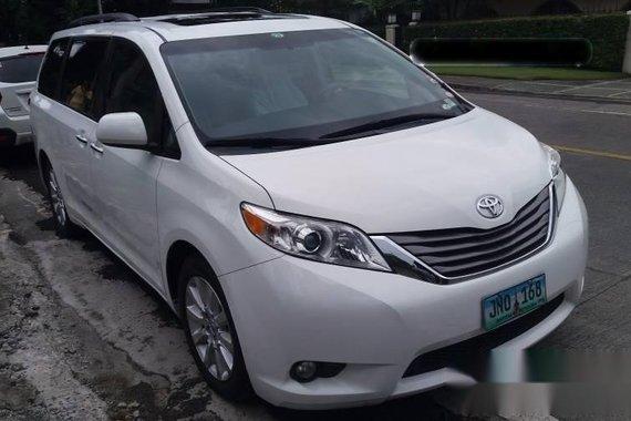 2012 toyota sienna xle minivan for sale