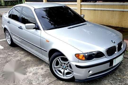 04 BMW 316i MT 17 wheels