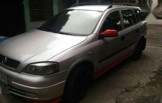 Opel astra 2000 SUV silver for sale